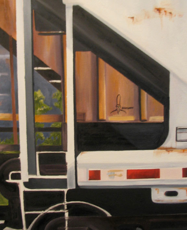 kris moffatt freights painting