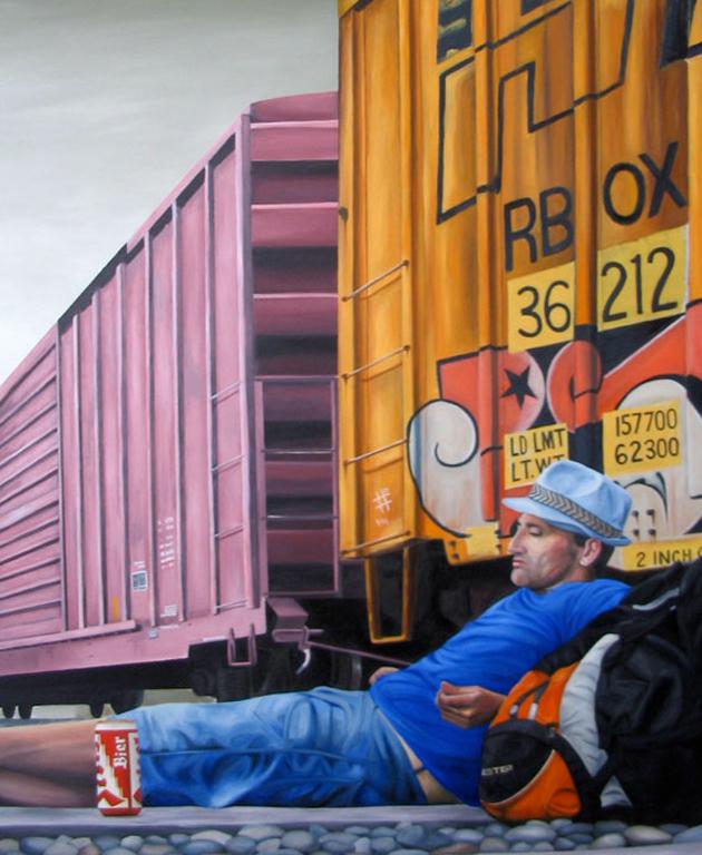 kris moffatt railway art