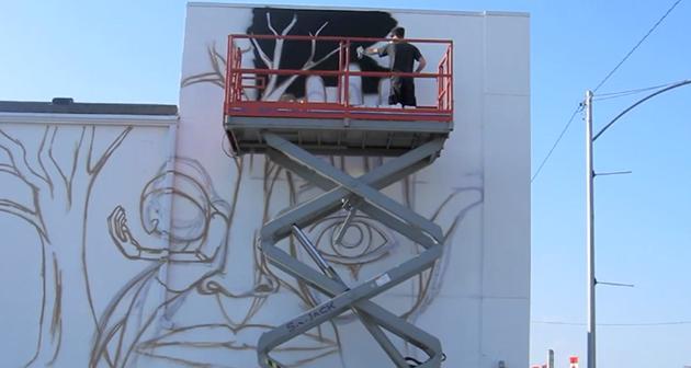 kris moffatt spare parts mural
