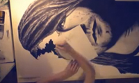 Kurt Cobain Time Lapse Drawing by Mr Positivity
