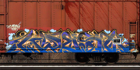 Kwest Graffiti Freight