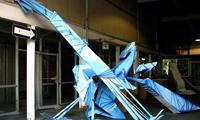 Kwest Graffiti Sculptures