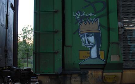 Labrona Freight Graffiti