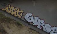 LA Freeway Graffiti Pictures