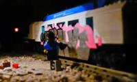 Lego Graffiti Stop-motion Animation