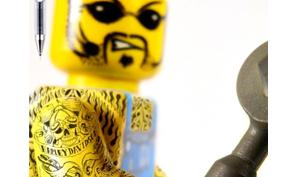 Pilot Extreme Pen Lego Tattoos