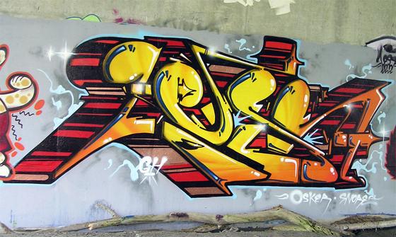 Less Graffiti Wall Toronto