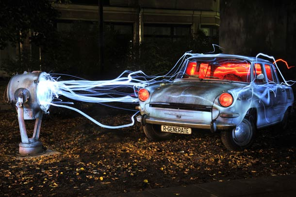 Light Painting By Diliz Senses Lost