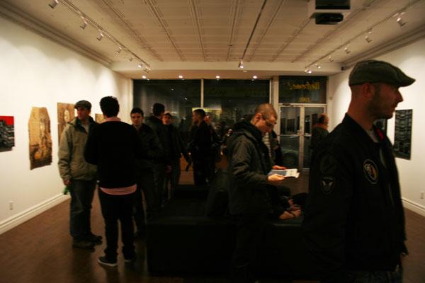 logan hicks c215 show and tell gallery toronto canada