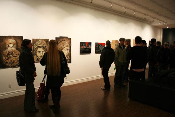 logan hicks c215 show and tell gallery toronto