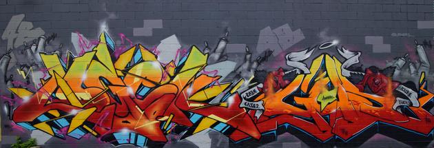 logek gusto graffiti