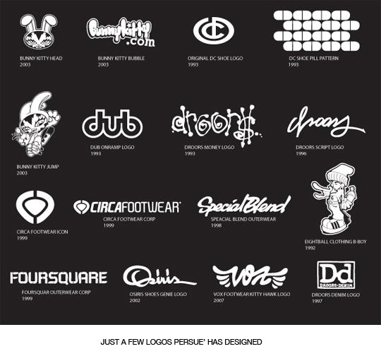 Persue Designed Logos