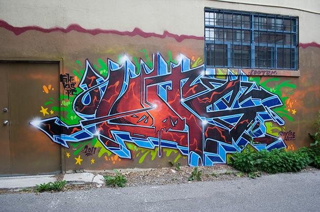 looter graffiti toronto