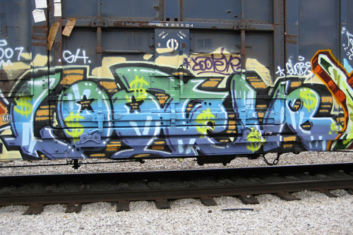 Looter Freight Graffiti