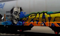 Looter &amp; Jarus &#8211; Salvador Dali Graffiti