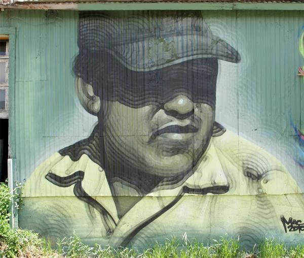 El Mac Graffiti Mural