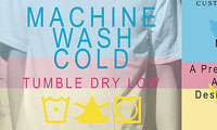 Machine Cold Wash, Tumble Dry Low