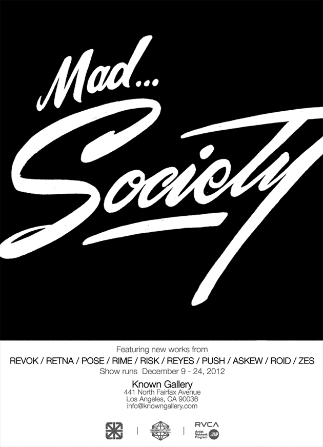 mad society flyer