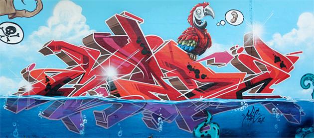 madc graffiti wall