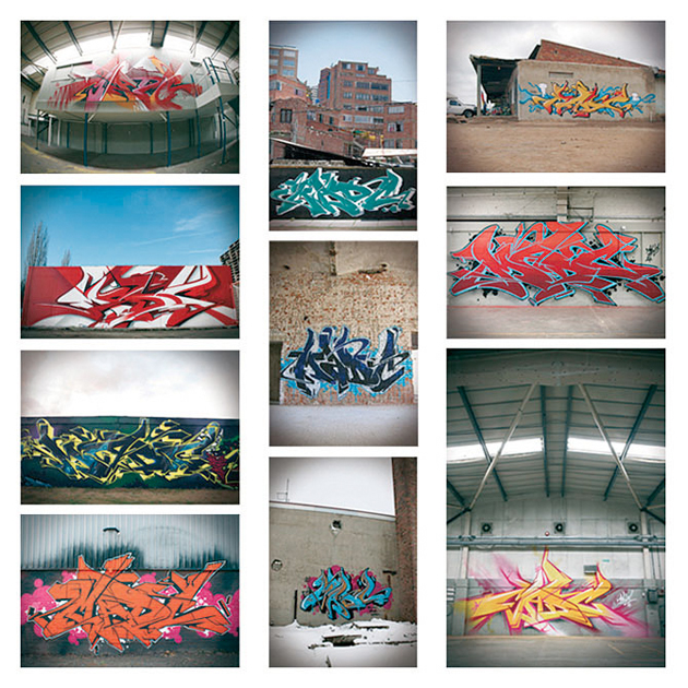 madc graffiti postcards preview