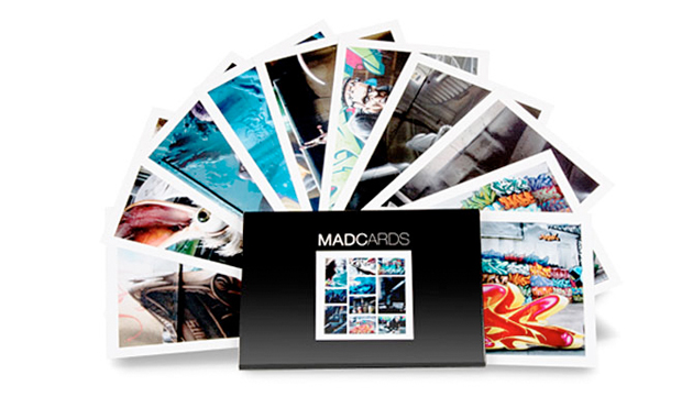 madc graffiti postcards
