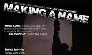 Making a Name – Toronto