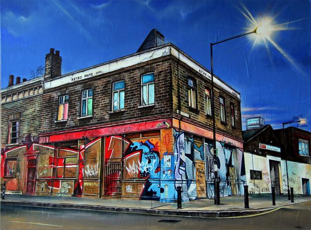 marc gooderham street art painting