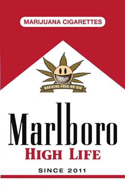 marijuana cigarettes ron english