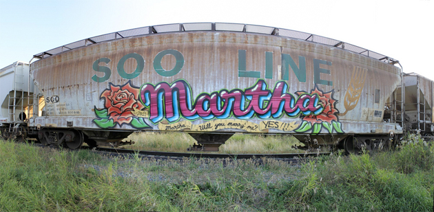 martha proposal graffiti freight