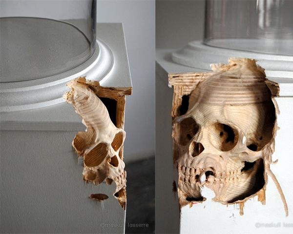 maskull lasserre sculpture skulls