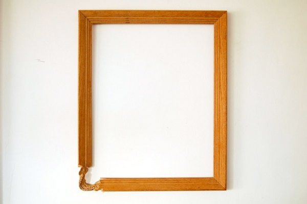 maskull lasserre sculpture wooden picture frame