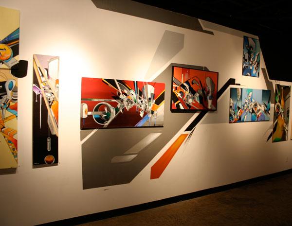 Mediah Decimals Rebuilt Art Show