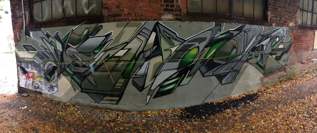 mediah graffiti panorama