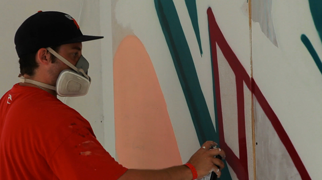 melo graffiti store front