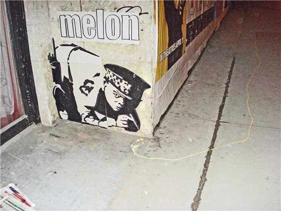 Melon Graffiti Art