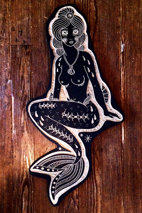 Bryn Perrott S Tattoo Wood Carvings Senses Lost