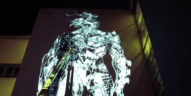 metal gear rising mural