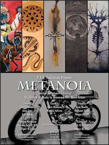 metanoia is an art show