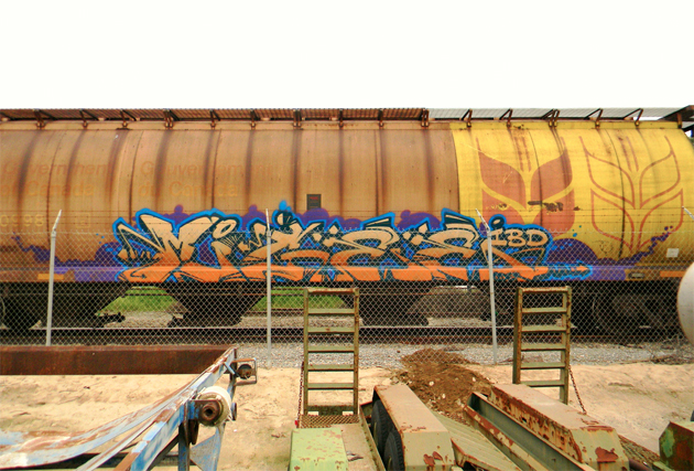 migee graffiti freight