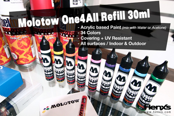 molotow one4all markers