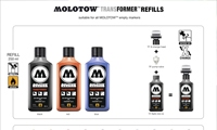 Molotow Transformer Refills