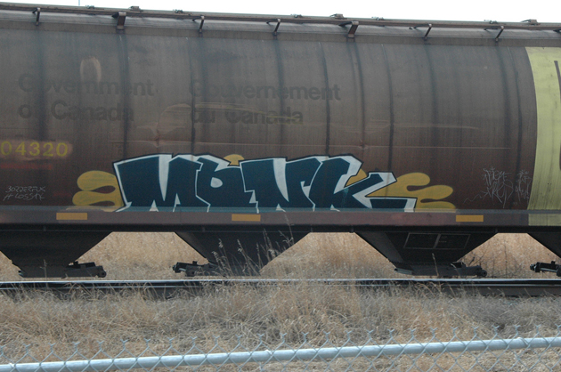 monk graffiti