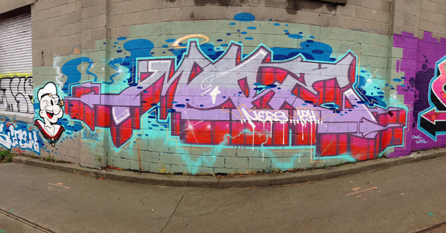 more graffiti panorama