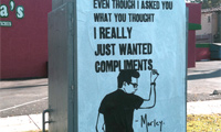 Morley Street Art
