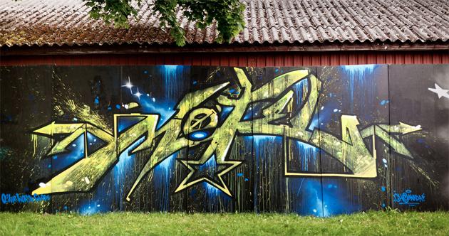 motel graffiti denmark