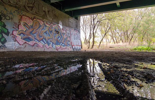 motel graffiti