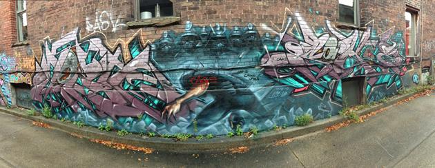 mozie sohoe graffiti panorama