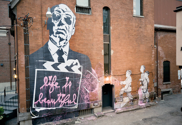 mr brainwash street art toronto