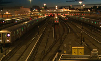 MTA Corona Subway Yard Time Lapse