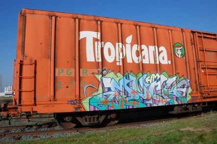 Much Freight Graffiti